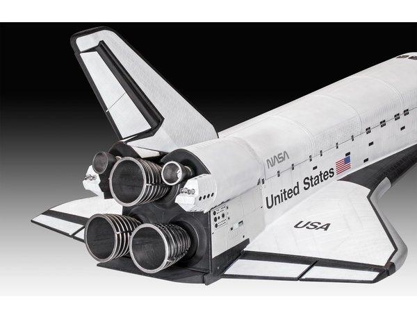 REVELL 1/72 SPACE SHUTTLE ATLANTIS 40TH ANNIVERSARY MODEL KIT