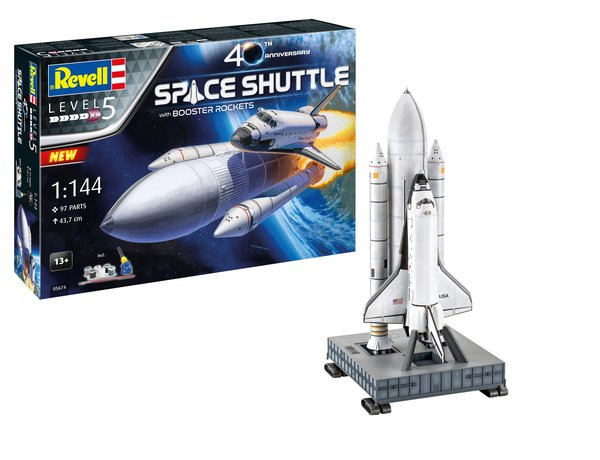 REVELL 1/144 SPACE SHUTTLE COLUMBIA