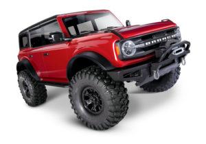 Traxxas TRX4 2021 Ford Bronco 1/10 Crawler - Red