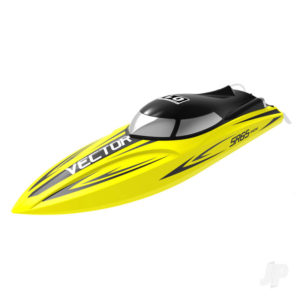 Vector SR65 Brushless ARTR Racing Boat (Yellow) (No Battery or Charger)