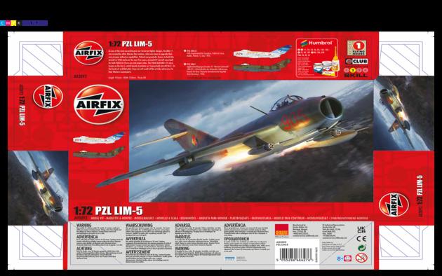 Airfix LIM-5 1:72 A03092