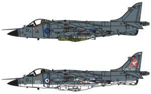 Airfix Bae Sea Harrier FRS1 1/72 A04051A