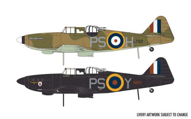 Airfix Boulton Paul Defiant Mk.1 A05128A