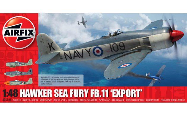 Airfix Hawker Sea Fury FB.11 'Export' A06106
