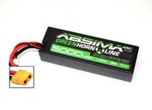 Absima Greenhorn LiPo Stick Pack 11.1V-45C 5000 Hardcase (XT60)