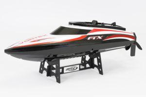 FTX Black Vortex high speed R/C race boat 44cm